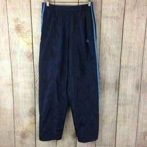 Adidas Vintage Blue Side Zip Warm-Up Track Pants S